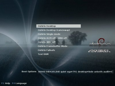 grub boot menu